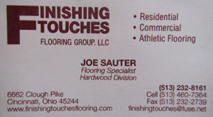 Best Choice Home Inspections endorses Finishing Touches Flooring Group