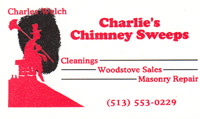 Best Choice Home Inspections endorses Charlie's Chimney Sweeps