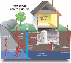 Radon is a cancer-causing, radioactive gas.