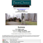 Best Choice Home Inspections Sample Reports